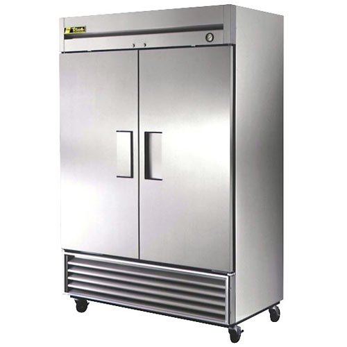 True Solid 2 Door Reach-In Refrigerator, T Series T-49