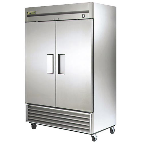 True Solid 2 Door Reach-In Freezer,  T-Series T-49F-HC