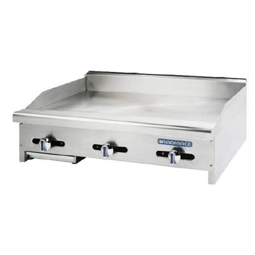 "Turbo Air 12"" Gas Countertop Griddle – Radiance Series TAMG-12"