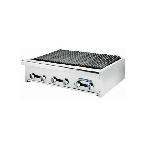 "Turbo Air 12"" 2-Burner Radiant Gas CharBroiler  TARB-12"