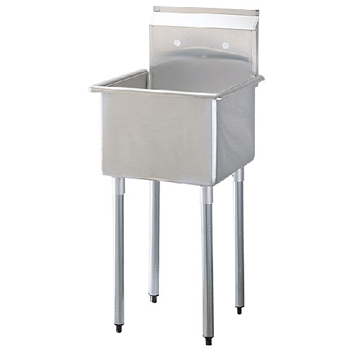 Turbo Air 1 Compartment Prep Sink TSA-1-N
