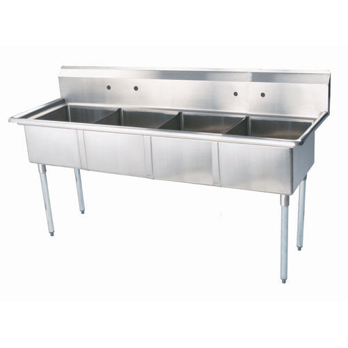 Turbo Air 4 Compartment Sink TSA-4-N