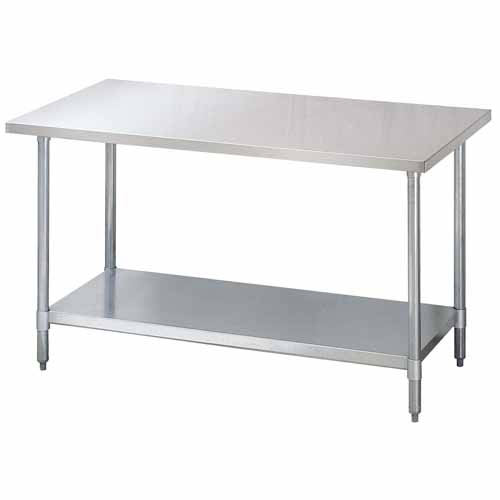 "Turbo Air S/S 304 Work Table w/ Backsplash 30"" x 96"" TSW-3096SB"
