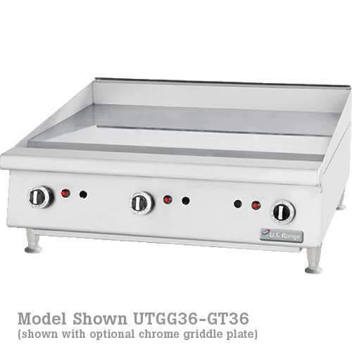"US Range Heavy Duty Gas Griddle-48""  UTGG48-G48M"