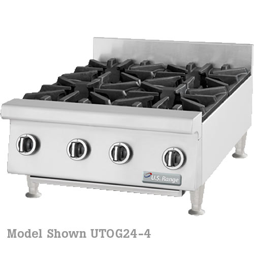 "US Range Heavy Duty Gas Hotplate-12"" UTOG12-2"