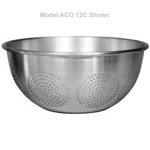 aluminum kitchen utensils.  Aluminum Update Aluminum Chinese Colander  12 Qt ACO12C Throughout Kitchen Utensils E