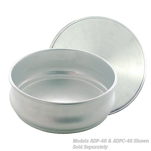 Update Aluminum Pizza Dough Pan Cover - 48 oz ADPC-48