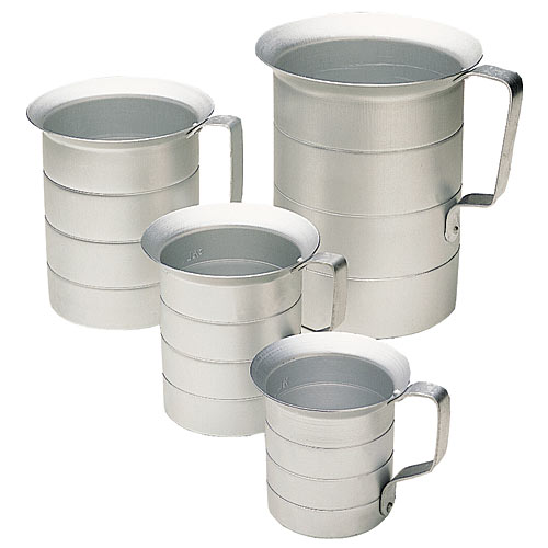 Update Aluminum Liquid Measuring Cup - 1 Pt  AMEA-05