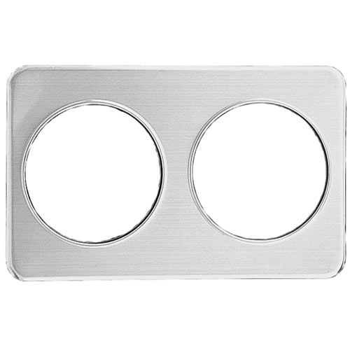 "Update Wrap Around Adapter Plate - Two 8-3/8"" Holes AP-27D"