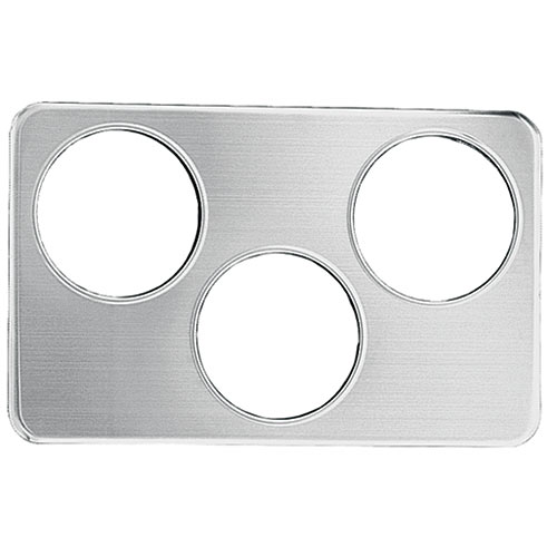 "Update Wrap Around Adapter Plate - Three 6-3/8"" Holes AP-34D"