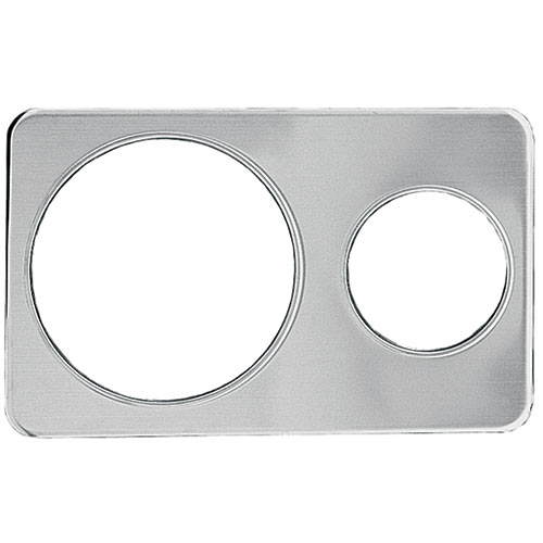 "Update Wrap Around Adapter Plate - One  6-3/8"" & 10-3/8"" Hole AP-411D"