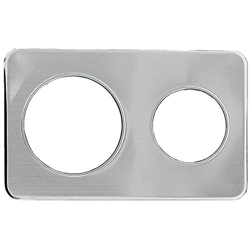 "Update Wrap Around Adapter Plate - One 6-3/8"" & 8-3/8"" Hole AP-47D"