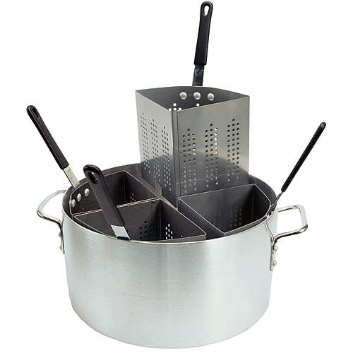 Update Aluminum Pasta Cookers - 20 Qt w/ Inserts APSA-4