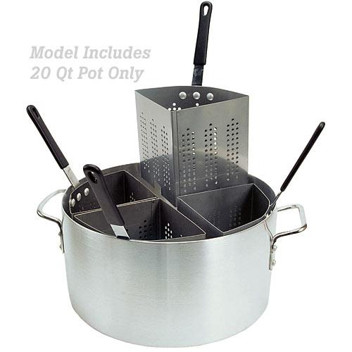 Update Aluminum Pasta Cooker Pot - 20 Qt APSA-POT