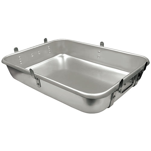 "Update Aluminum Strapped Roast Pans w/Lugs - 18"" x 24""  ARP-1824L"