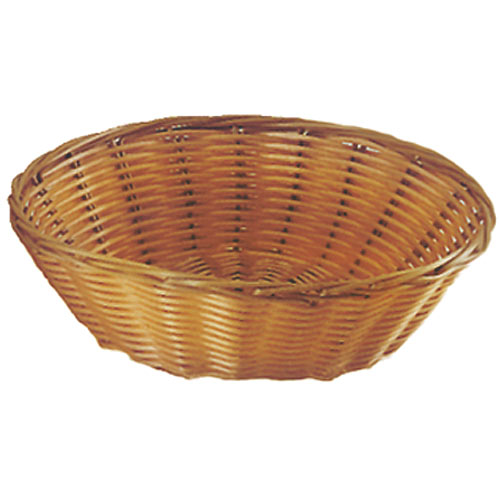 "Update Round Natural Color Woven Basket - 8 1/4"" BB-8R"
