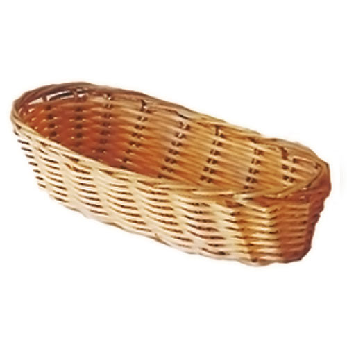 "Update Natural Color Woven Cracker Basket - 9"" BB-94"