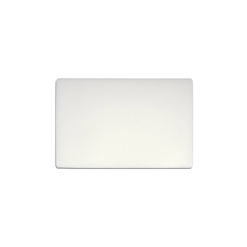 "Update White Heavy Duty Poly Cutting Board - 12"" x 18"" x 3/4"" CB-1218H"