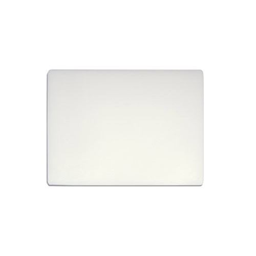 "Update White Heavy Duty Poly Cutting Board - 15"" x 20"" x 1"" CB-1520XH"