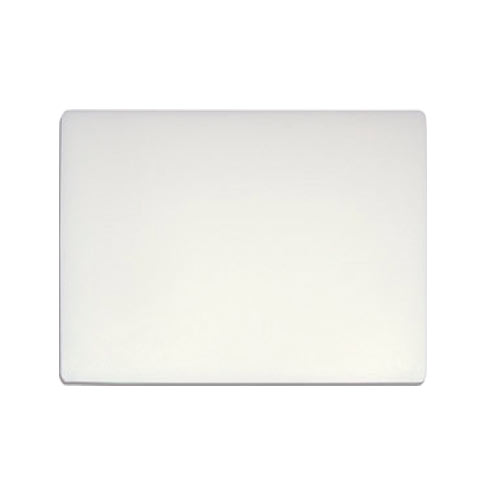 "Update White Heavy Duty Poly Cutting Board - 18"" x 24"" x 3/4"" CB-1824H"