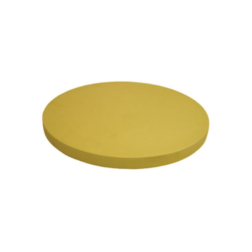 "Update Synthetic Rubber Round Cutting Board - 16"" x 1/2"" CBR-16R"