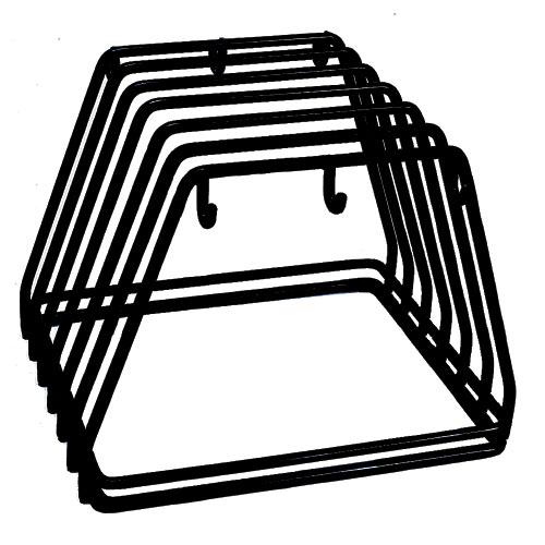 Update Heavy Duty Wire Frame Cutting Board Rack CBRK-6N