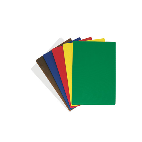 "Update Color-Coded Cutting Board Set - 12"" x 18"" x 1/2"" CBS-1218"
