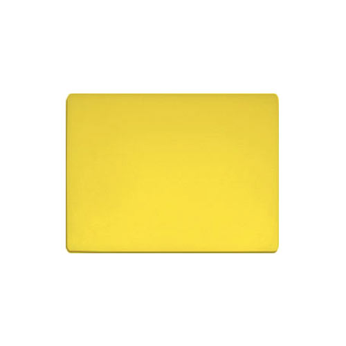 "Update Yellow Poly Cutting Board - 15"" x 20"" x 1/2"" CBYE-1520"