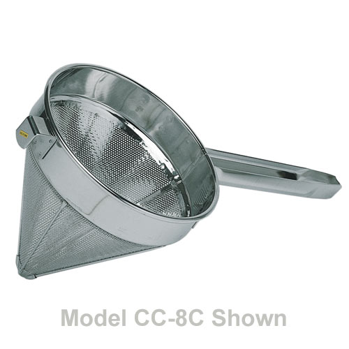 "Update Fine Mesh China Cap Strainer - 8"" CC-8F"