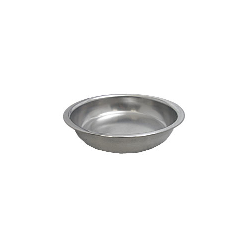 Update Gold Accented Round Chafer Food Pan DC-4FP