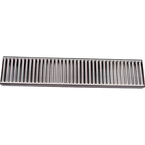 "Update Stainless Steel Drip Tray - 4"" x 19"" DTS-419"