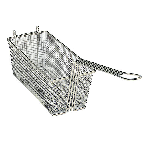 "Update Rectangle Wire Fry Basket - 12-5/8"" x 6-1/2"" x 5-1/8"" FB-126"