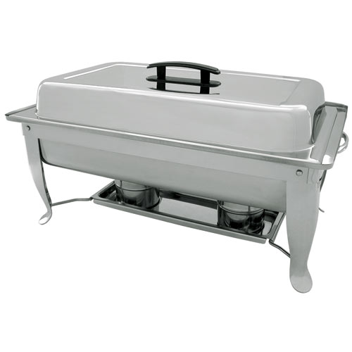 Update Rectangular S/S Folding Chafer - 8 qt FCC-11P