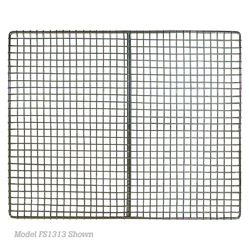 "Update Stainless Steel Fryer Screens - 11-3/8"" x 14-5/8"" FS1114"