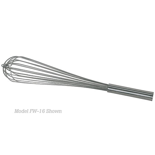 "Update Stainless Steel French Whip - 16""  FW-16"