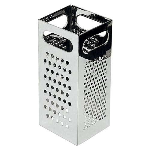 Update Stainless Steel 4-Sided Grater GR-449