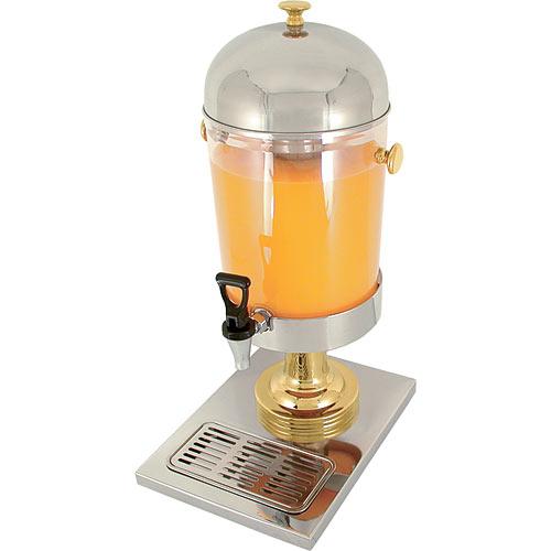 Update Acrylic Ice Core Juice Dispenser - 2.2 Gal JD-22GD