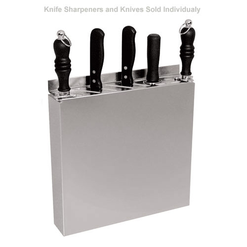 "Update Stainless Steel Knife Rack -12"" X 12 3/4"" KR-1212"