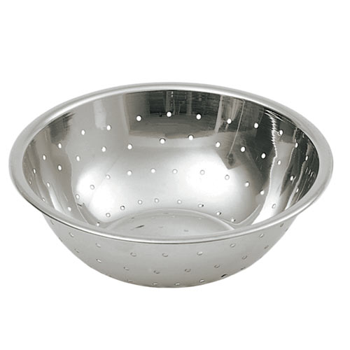Update Stainless Steel Mixing Bowl - 2 Qt. Perforated MBH-200