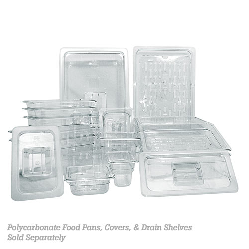 Update Polycarbonate Drain Shelves - Full Size PCP-100DS