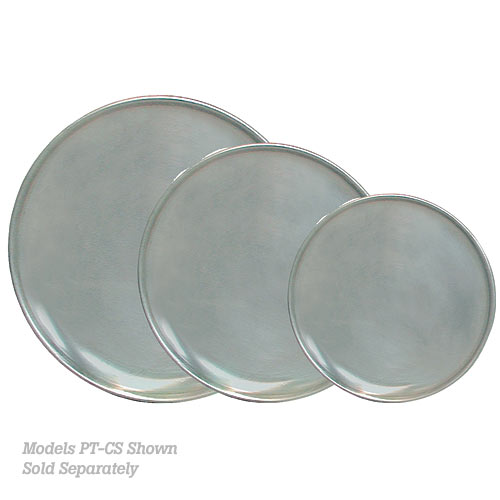 "Update Aluminum Coupe Style Pizza Pan - 17"" PT-CS17"
