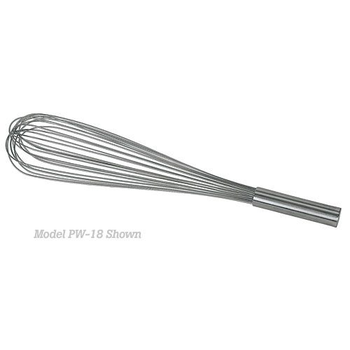 "Update Stainless Steel Piano Wire Whip - 16""  PW-16"