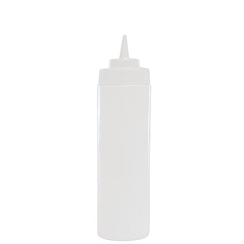 Update Wide Mouth Clear Squeeze Bottle - 16 oz  SBC-16W