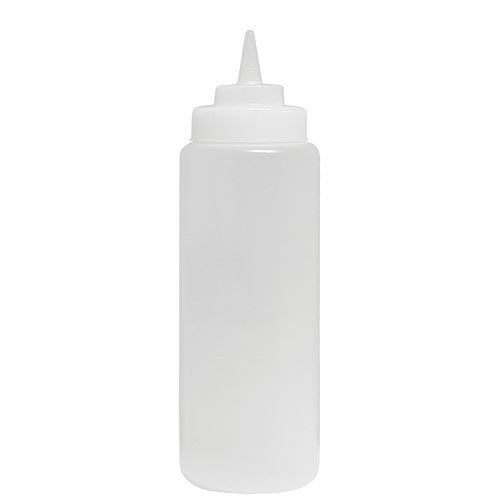 Update Wide Mouth Clear Squeeze Bottle - 24 oz  SBC-24W