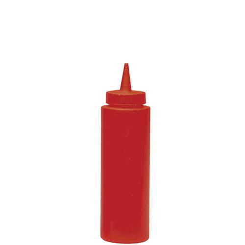 Update Red Squeeze Bottle - 8 oz  SBR-08