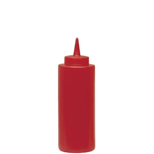 Update Red Squeeze Bottle - 12 oz  SBR-12