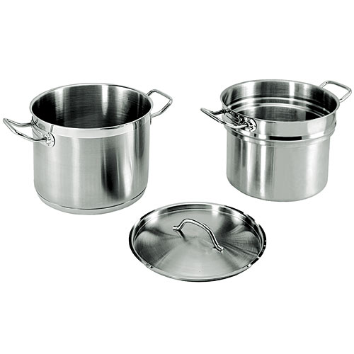 Update Stainless Steel Double Boiler - 20 Qt SDB-20