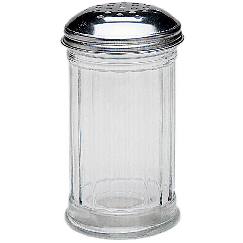 Update Glass Perforated Shaker Jar - 12 oz SK-FPF