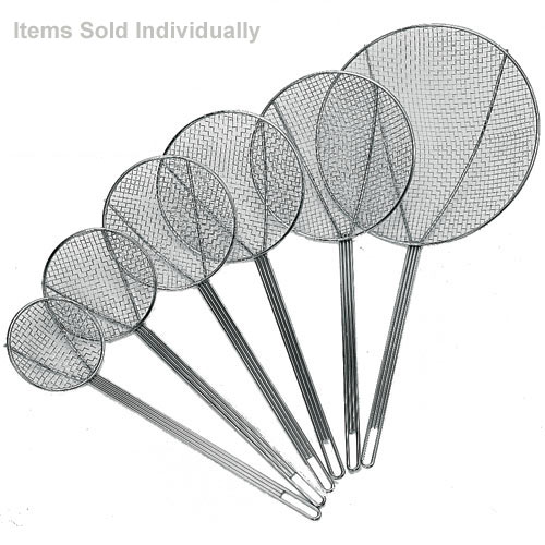 "Update Medium Mesh Square Wire Skimmers -8"" SKM-8WG"