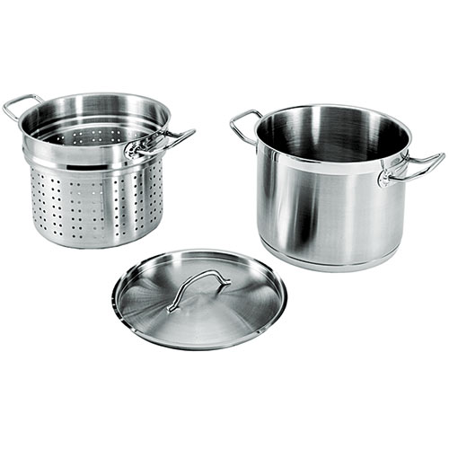 Update Stainless Steel Pasta Cookers 12 Qt. SPSA-12